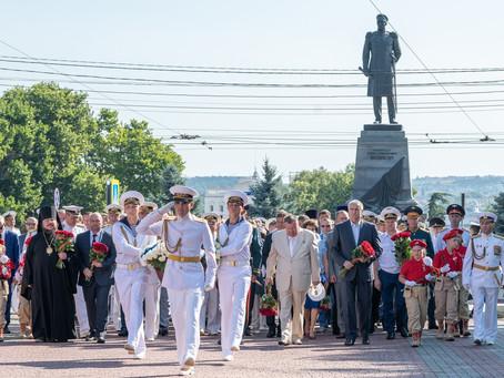 СЕВАСТОПОЛЬ.На День ВМФ парад кораблей.Без Главного.