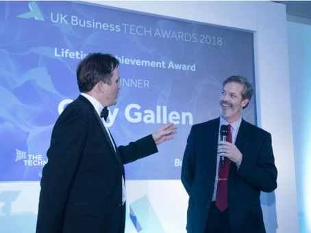 rradar Celebrates Key Award Wins at UK Business Tech Awards in London