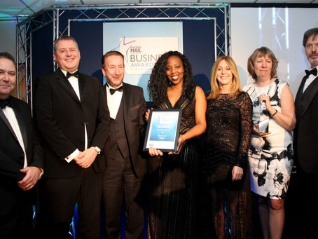 rradar shortlisted for two Hull Daily Mail Business Awards