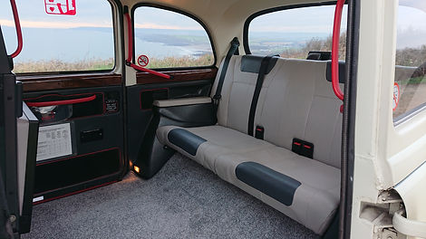 Taxi in Bude interior.JPG