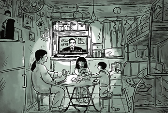 The housebound Hong Kong families crampe