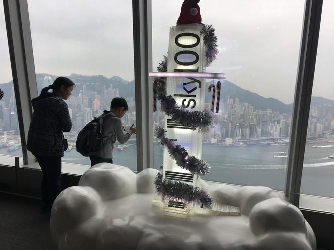 Parent Child Visit at Sky 100