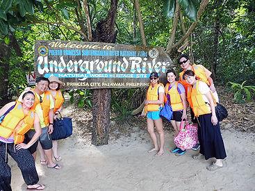 世界遺産Underground River