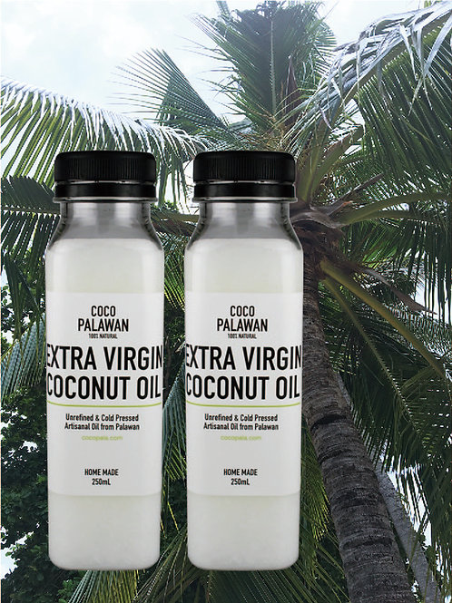 EXTRA VIRGIN COCONUT OIL 2本セット