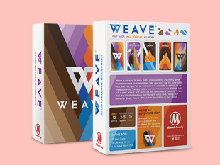 Weave Game, Back of Box Redesign
