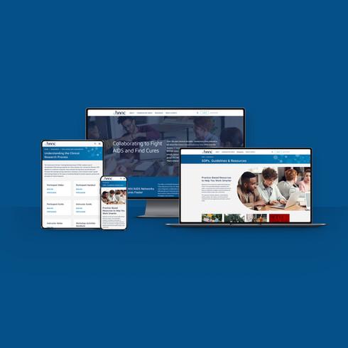 HANC Web Identity & Site Redesign