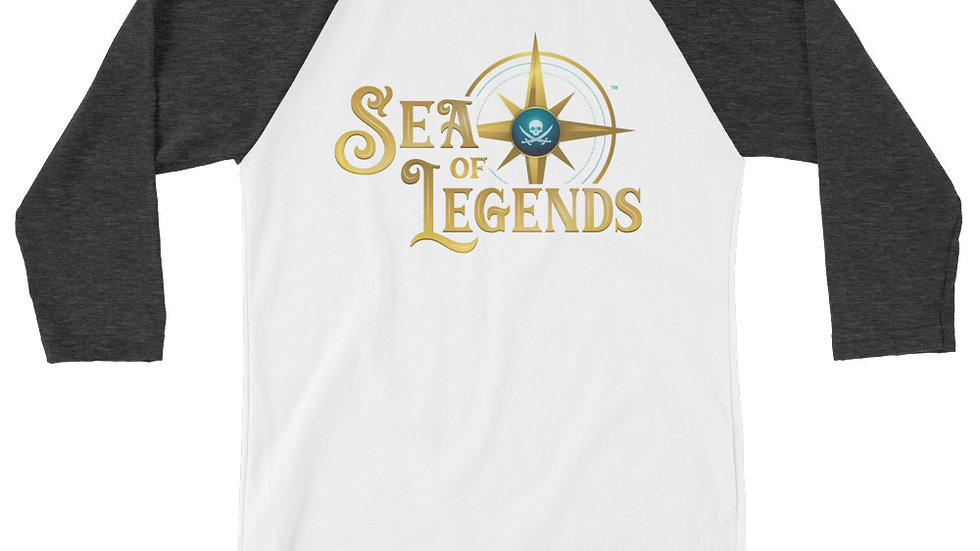Sea of Legends: 3/4 sleeve raglan shirt