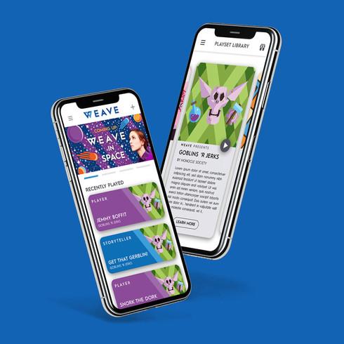 Weave App Redesign