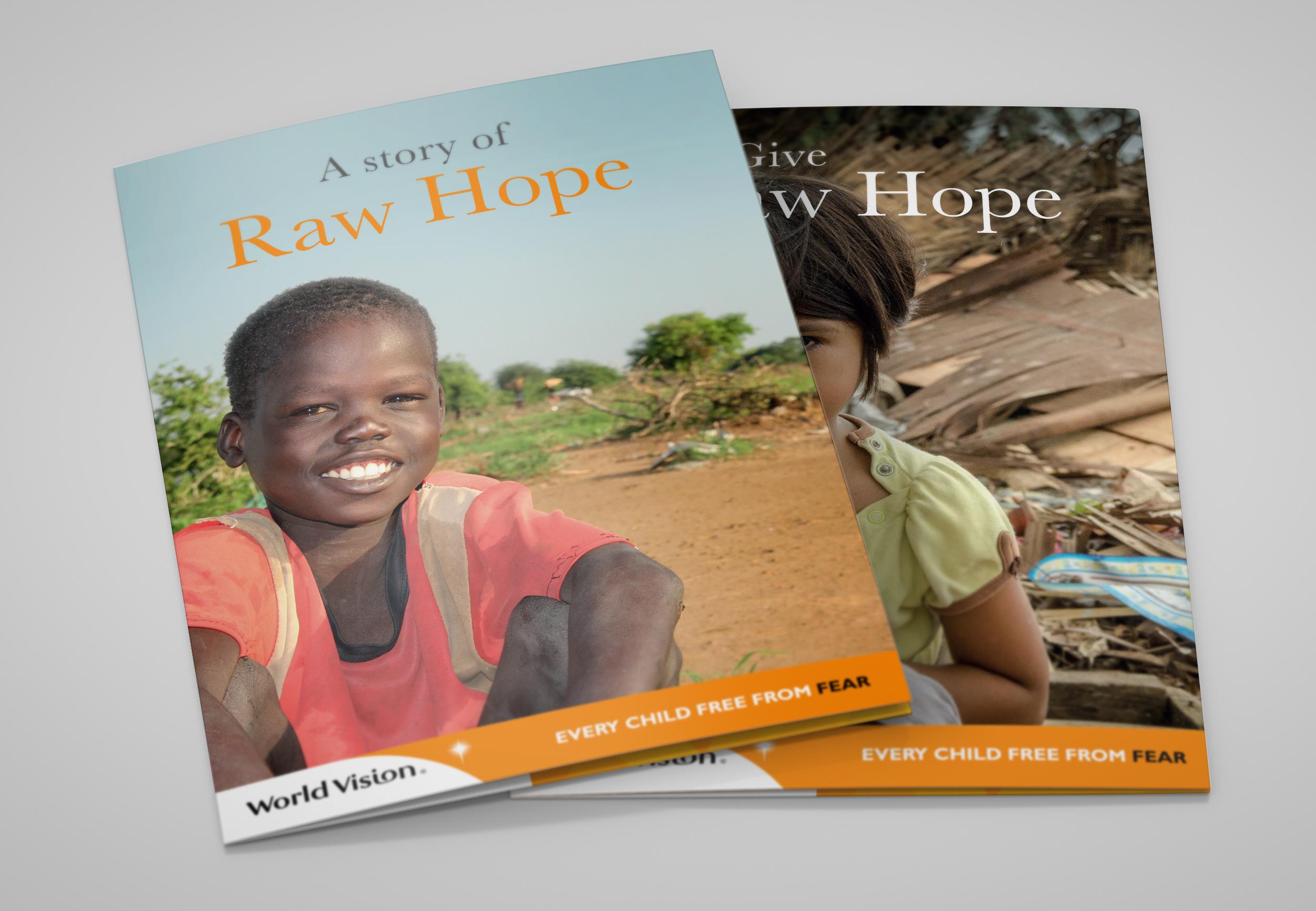 WV raw hope leaflet x 2