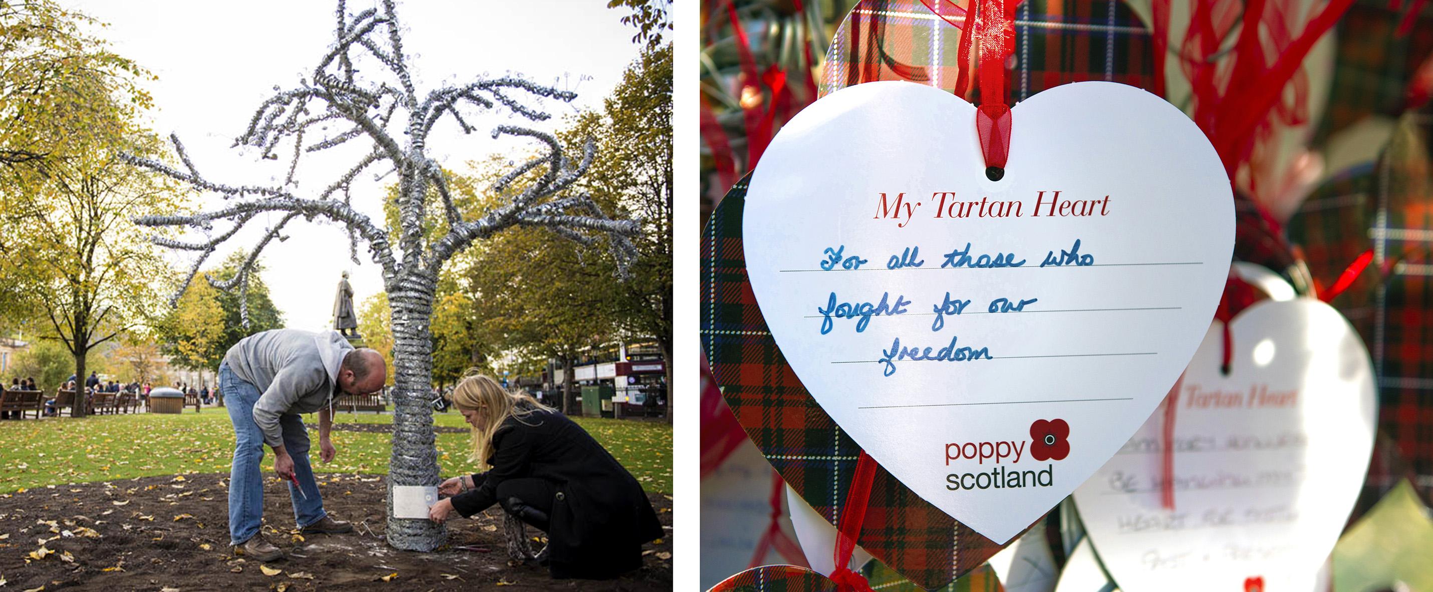 heart of scotland two pics