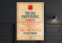 pledge Poster Mockup