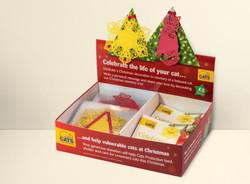 cat baubles box