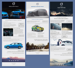 Volvo emails x3