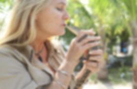 cherie kiss croc.jpg