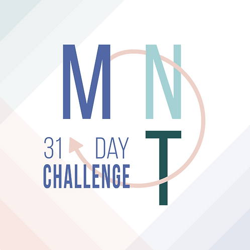 My Next Thing 31 Day Challenge