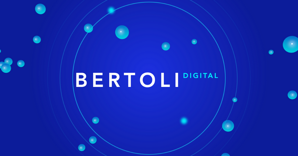 Creation of my own Digital agency: BERTOLI Digital