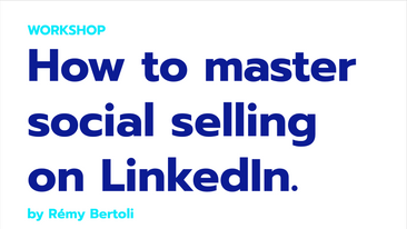 Business trainer & coach: How to master social selling on LinkedIn
