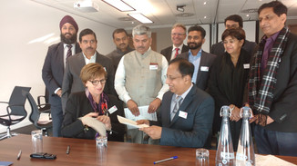 Indian MPs engage with UK renewables