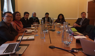 Indonesian MPs visit London for climate discussions