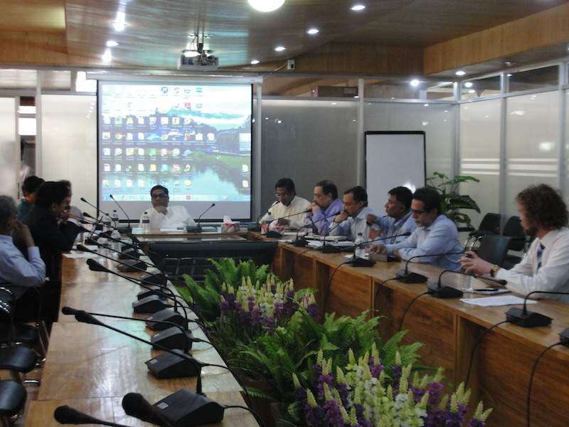 Bangaldesh Minister attends CP meeting
