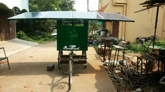 "Launching a mobile ""Solar Chariot"" in Odisha"