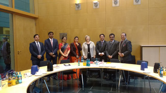 Our Indian MPs on trip to Germany