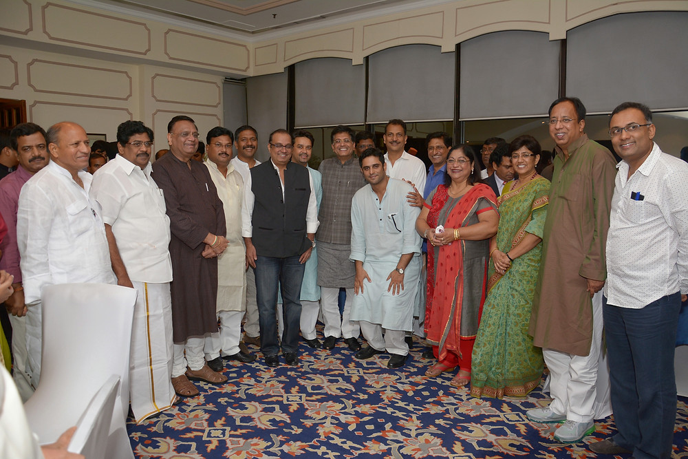 The core members of our Indian MP network