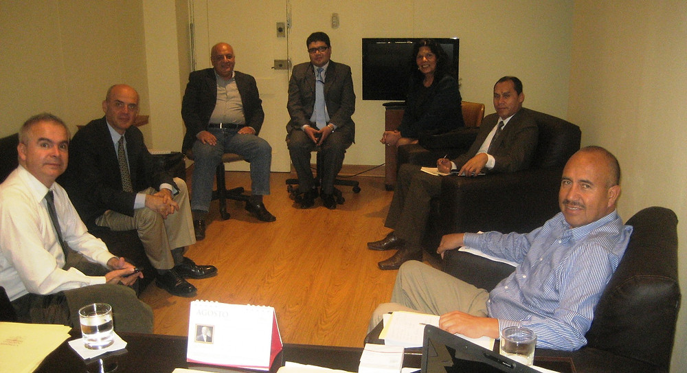 Meeting with MPs in Peru