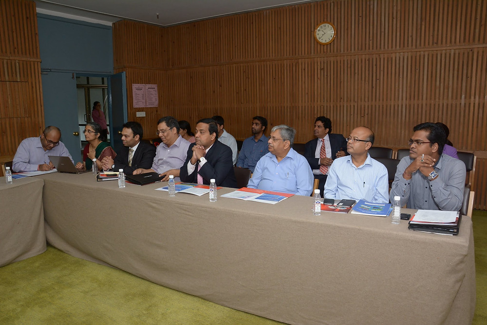 Legislators at Indian stakeholder meeting
