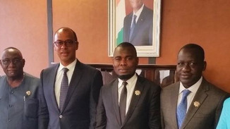 Climate Parliament MPs meet with Côte d'Ivoire's Minister of Petroleum, Energy and Renewable Energy