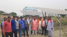 Climate Parliament MP brings solar power to 50 remote villages in Bihar, India