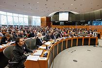 A Climate Parliament event in the European Parliament