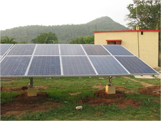Solar Nano grids for smart village power