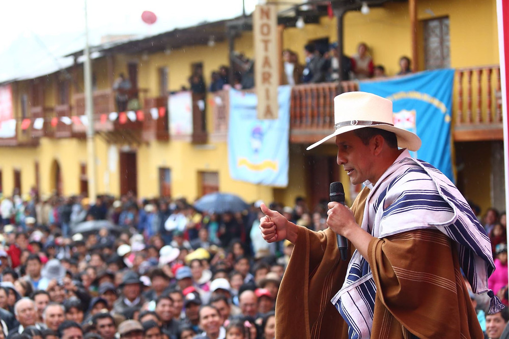 Peru President unveils new rural Electrification System in Cajamarca
