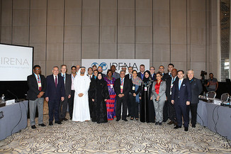 Our delegation to the IRENA Assembly