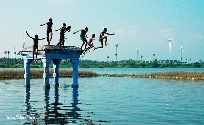 Clean energy drives Indian development
