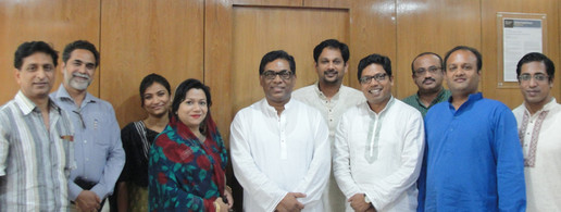 Bangladeshi MPs with the Power Minister