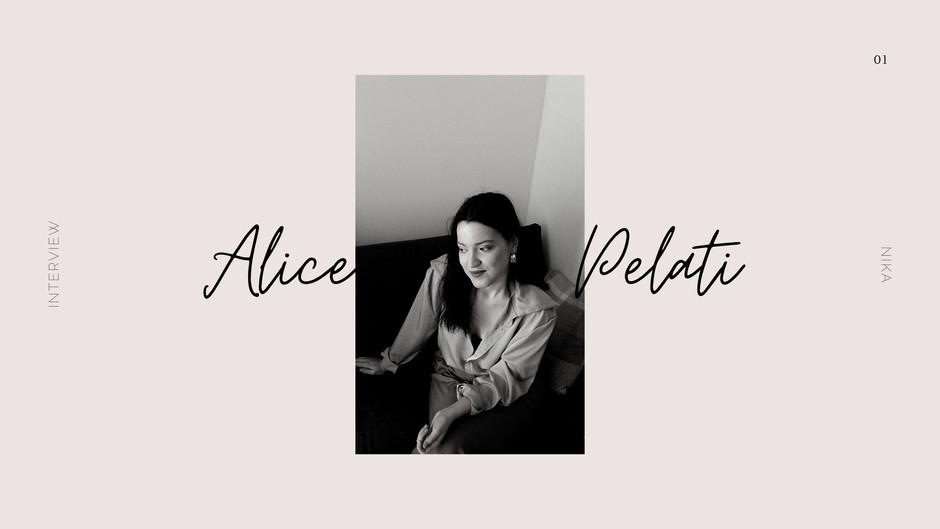 Interview: Alice Pelati, ALIS 1996 Brand owner and Fashion stylist