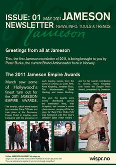 Jameson Newsletter May 2011