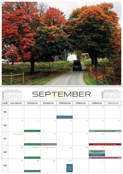 NLRK - Kalender 2021