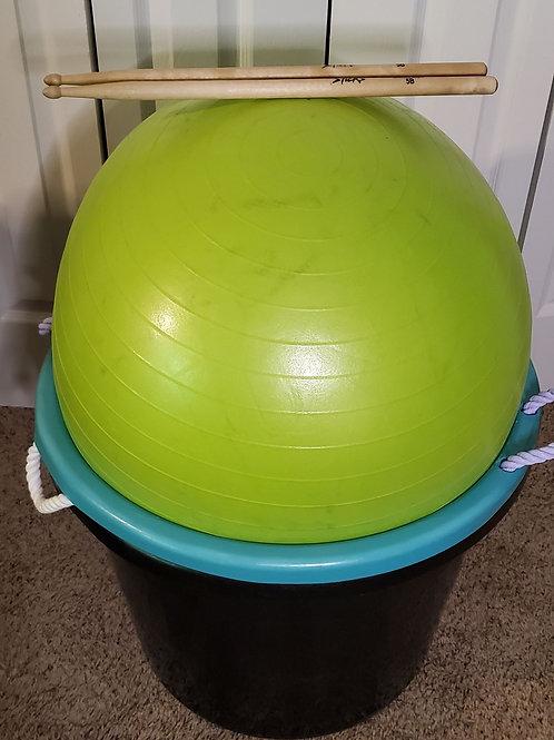 Full Package (Ball + Bucket + Drumsticks)