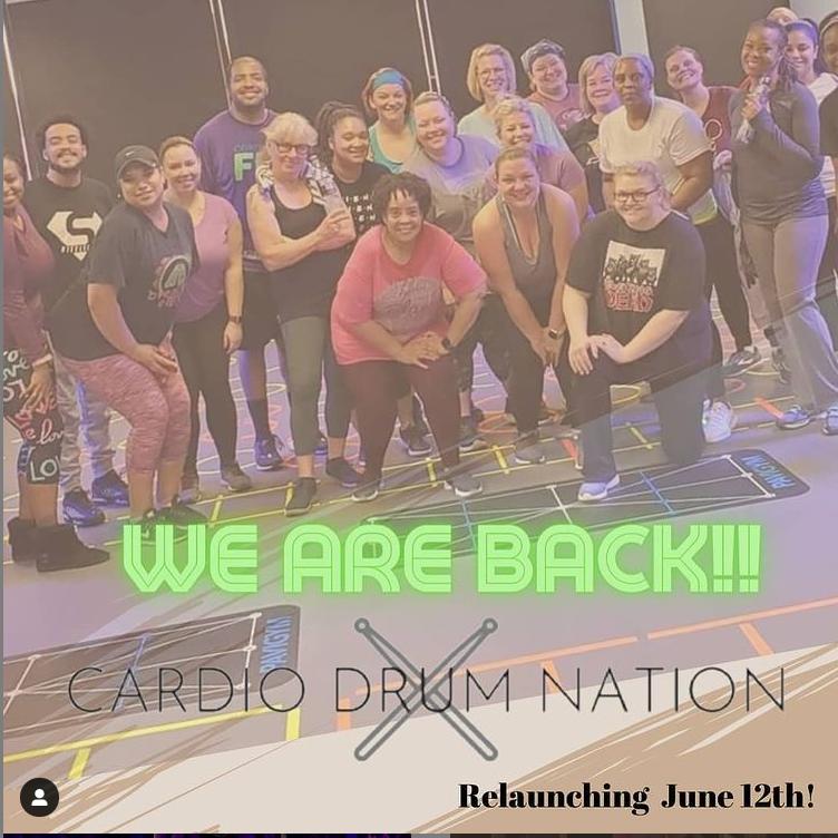 Cardio Drum Nation Pop Up