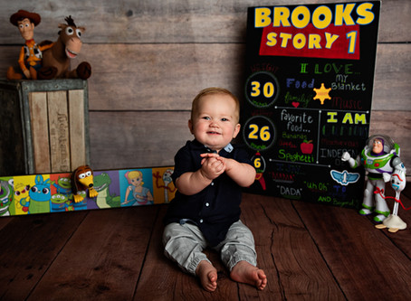 Brooks | Toy Story Cake Smash