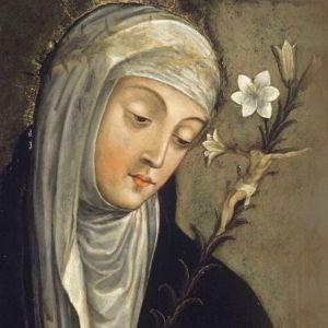 Santo do dia 29 de Abril - Santa Catarina de Sena