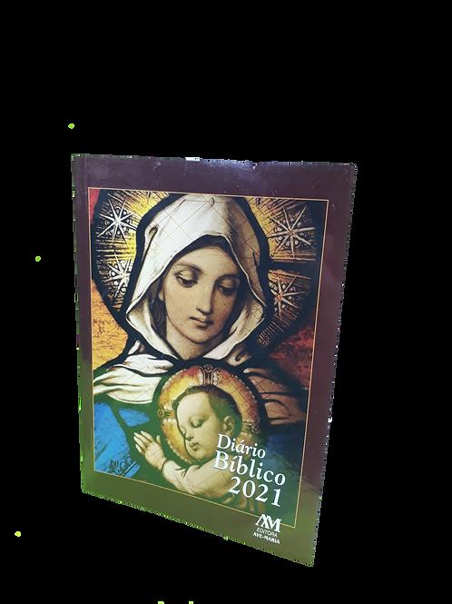 Diário bíblico, brochura, Maria - Editora Ave Maria