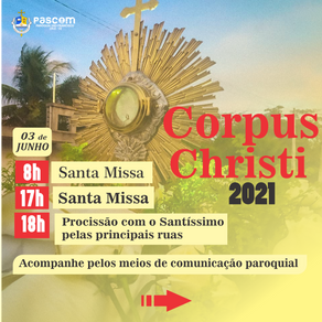 Corpus Chisti 2021