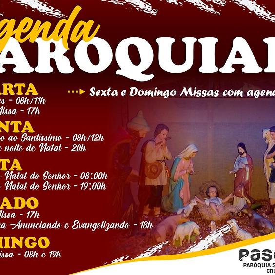 Santa Missa -  Sexta - Natal  - 25/12 | 8h