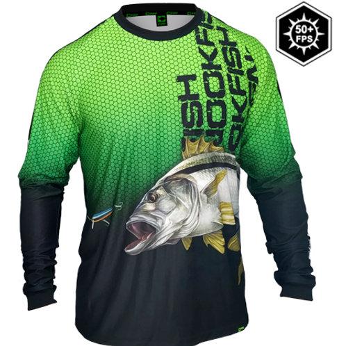 Camisa 50+ Robalo Verde