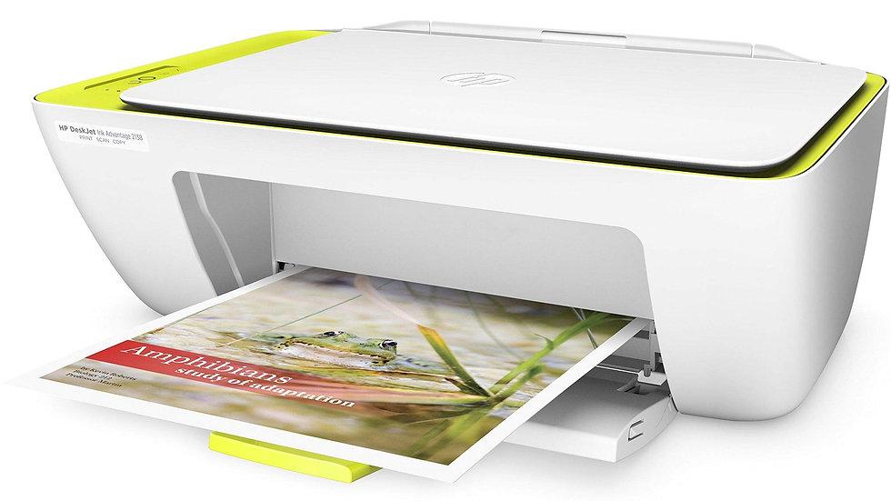HP DeskJet Ink Advantage 2138 All-in-One Printer