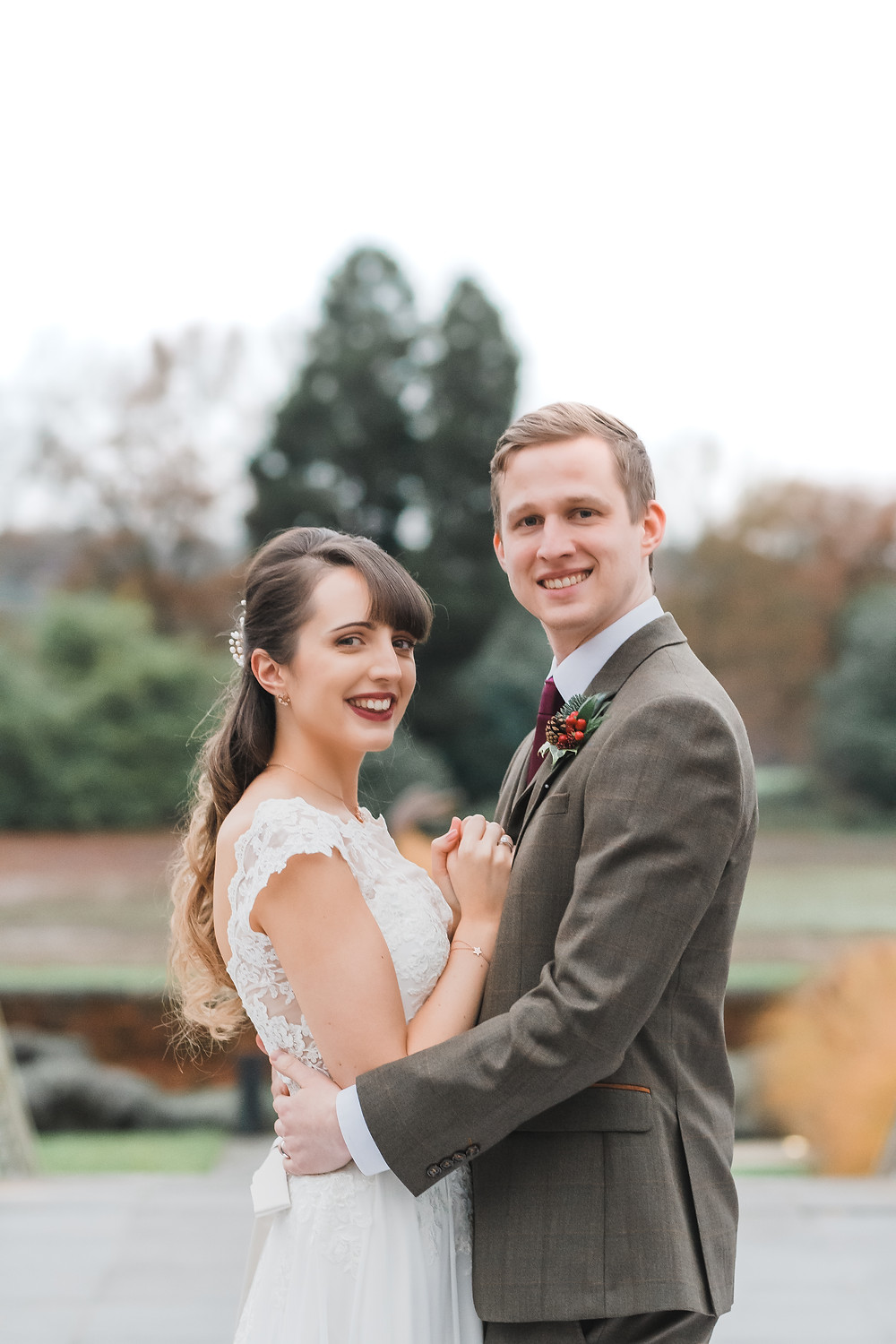 Coworth Park Winter Wedding